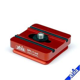 Schnellwechselplatte QPL-1 red
