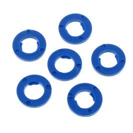 """1/4""""-Sicherungsscheibe blau"""
