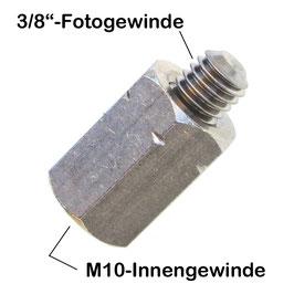 """Sechskantadapter 3/8""""-außen auf M10-innen"""