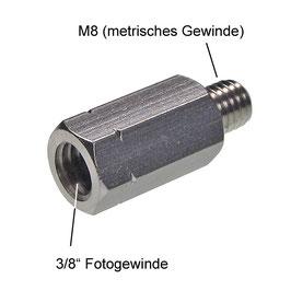 """Sechskantadapter 3/8""""-innen auf M8-außen"""