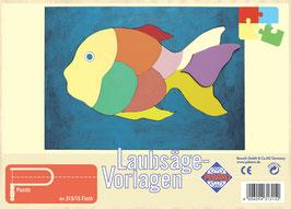 Laubsägevorlage Fisch