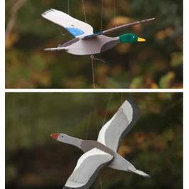 Material für die Flugtiere der Landlust