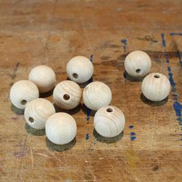 Holzkugeln mit Loch / Holzperlen