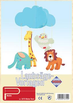 """Laubsägevorlage Mobile """"Kleine Tiere"""""""