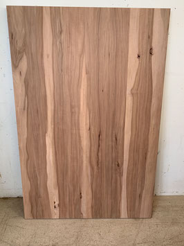 Verleimtes Brett Zwetschgen Holz. Seltene Holzart. Mass 120x80cm, Dicke 2,9cm. Nr. 1767 Reserviert