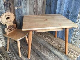 Kindertisch Ahorn oder Kirschbaum    Passend zu Kinderstuhl