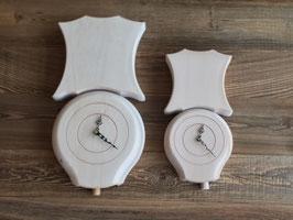 Treichel-Uhr, Holzuhr in Glockenform