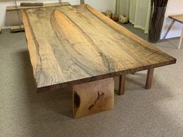 Naturkanten-Tisch Ausstell-Modell, 201x101cm, Plattendicke 4cm