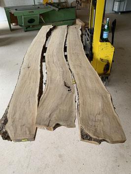 Oliven-Bretter 3 Stück Länge 367cm! Auch jedes Brett einzeln erhältlich. Brett etwas verzogen.