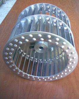 Nombre del producto; Turbina galvanizada tipo jaula de ardilla