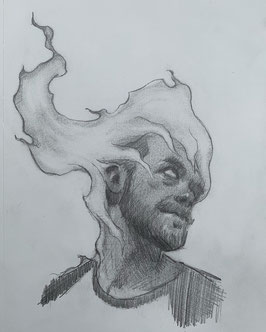 Fire Drawing Study