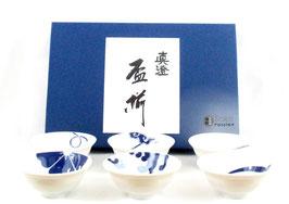 Coupelles à saké (par 6 pièces)