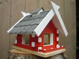 Vogel-Futterhaus-Blockhaus