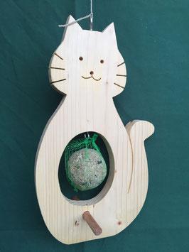 Meisenknödel-Halter Katze oder Eule