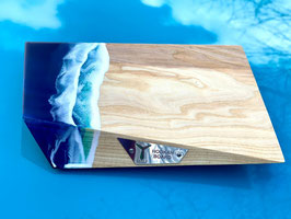 TOTEM HOOKAH BOARD BLUE AND RED