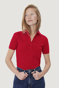 214 - Damen-Poloshirt Cotton-Tec