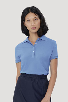 222 - Damen-Poloshirt Stretch