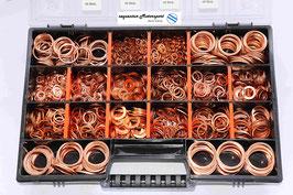 Sortiment Kupferdichtringe DIN 7603 A mit 2.265 Teilen