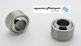 Motorsport Gelenklager / Uniball GXSW 18.35 MS, Lager vorgespannt, DIN 648