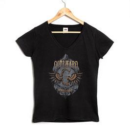 """Defrosted"" T-Shirt (Women) - V-Neck"