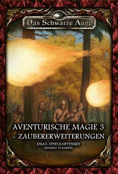 DSA5 Spielkartenset Aventurische Magie 3- Zaubererweiterung