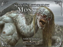 DSA5 Mythos Spielkartenset Mythos-Monster