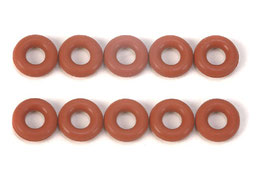 O-Ring 3x6mm rot