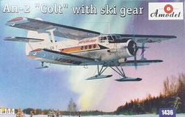 """An-2 """"Colt"""" mit Skifahrwerk"""