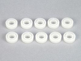 Plastik-Lager 11x5x4mm, 10 Stück