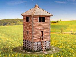 Römischer hölzerner Wachturm