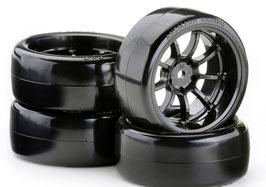 Drift Tire Set 6mm 1:10