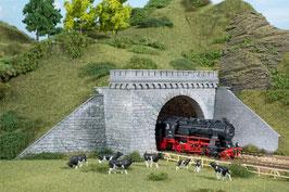 Tunnelportale (2), zweigleisig