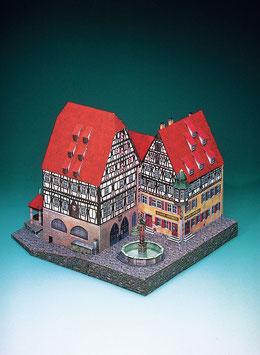 Marienapotheke und Gewerbehalle Rothenburg o. Tauber