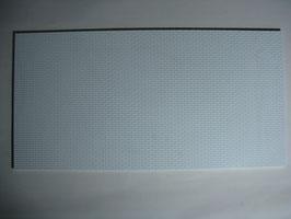 Mauerwerksplatte mit Läuferverband