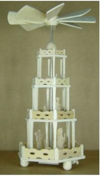 Bausatz für eine kleine Weihnachtpyramide