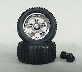 Pin Tires,  1:18 + Mitnehmer (2)