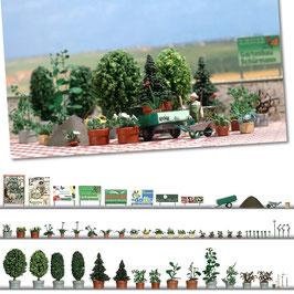 Pflanzen, Kübel-Set