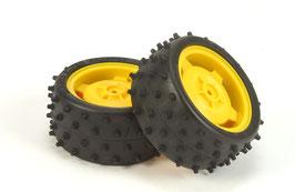 Hinterrad mit Reifen