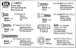 DT-02  BA-Teile