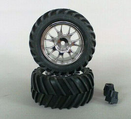 Trucker Tires,  1:18 + Mitnehmer (2)