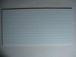 Mauerwerksplatte mit unregelmäßigem Schichtenmauerwerk