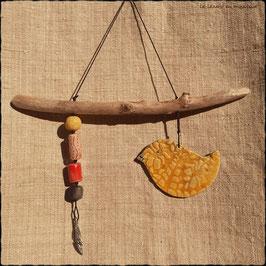 Le Piou Equilibriste, jaune