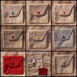 Articles complémentaires pour les coffrets cadeau : les pochettes