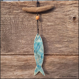 Mobile Poisson turquoise