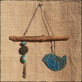 Le Piou Equilibriste turquoise