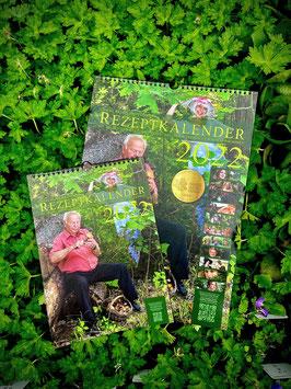 A4 - Pflanzen-Rezeptkalender aus eigener Produktion - mit Pflanzen der Region!