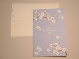Grußkarte - Cherry Blossom