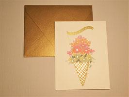 Grußkarte - Icecreme Birthday