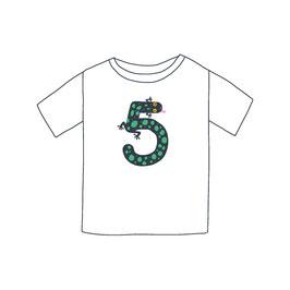 Zahlentier Fünf Gecko