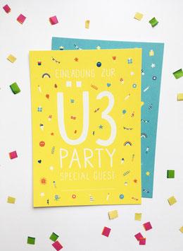 Einladung zum 3. Geburtstag